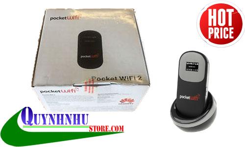 Bộ Phát wifi E585 có hỗ trợ sạc pin bằng dock sạc huawei