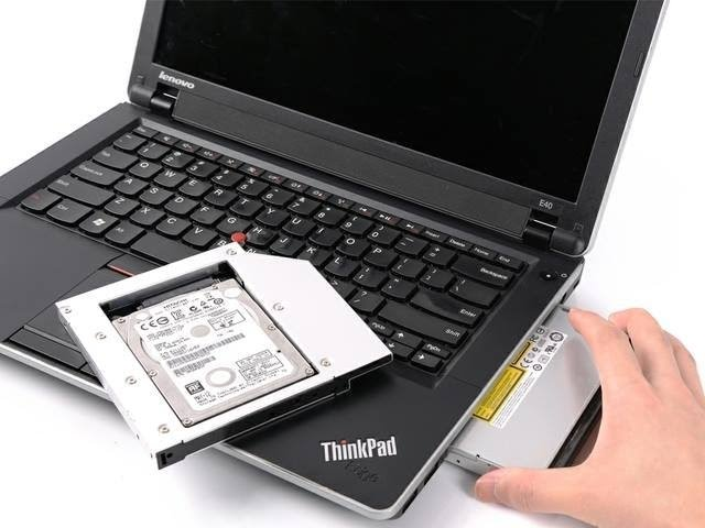 gắn ổ cứng thứ 2 cho laptop- caddy bay hdd